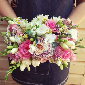 Posy Of Mixed Seasonal Blooms