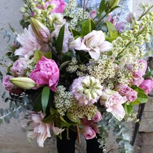 Bouquet Of Mixed Seasonal Blooms